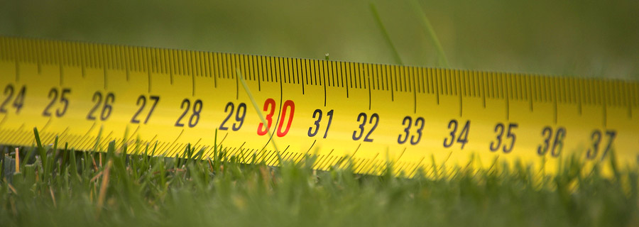 Measuring your lawn